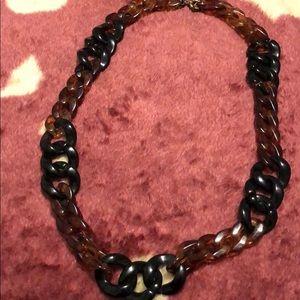 JCrew Lucite Necklace